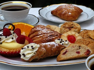 Pastry Table Setting